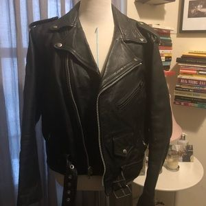 90's Vintage Leather Jacket
